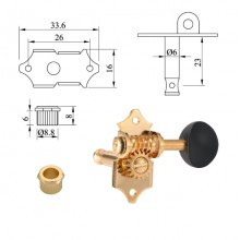 Machine Heads for acoustic guitar
